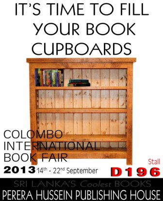 Come visit us at the Colombo International Book Fair 2013!