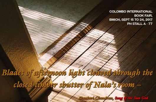 Book Fair Post - Shankari Chandran, Song of the Sun God
